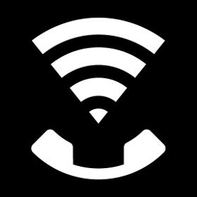 Ícono Wi-Fi Calling activado